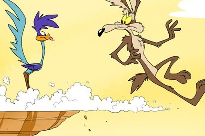 Illustration for article titled The coyote is dead and is being punished for all eternity