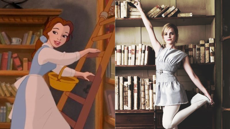 Illustration for article titled Emma Watson to Play Disney Cartoon Who Won't Stop Singing About Books