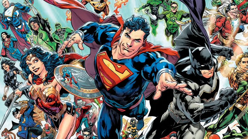 Image: DC Comics. Rebirth #1 cover art by Ivan Reis, Joe Prado, and Brad Anderson.