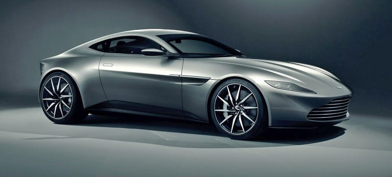Illustration for article titled James Bond's DB10 Previews Future Aston Martin Design (And It Has A V8)