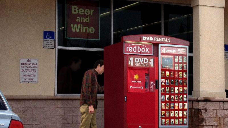 Illustration for article titled Redbox Debuts New Touchscreen In Back Of Kiosk For Pornographic Features