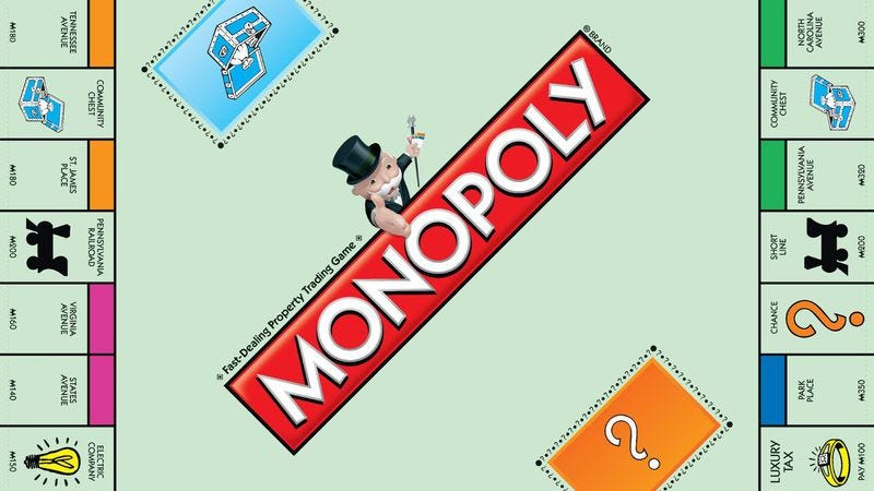 Illustration for article titled The story behind Monopoly is becoming a movie