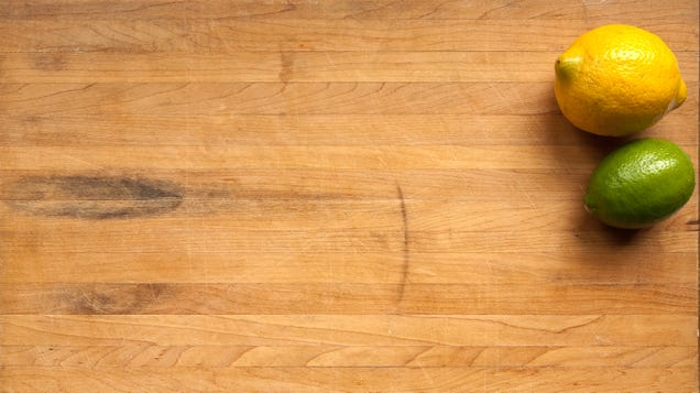 How to Remove Stains From a Butcher Block Countertop