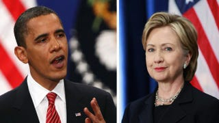 President Barack Obama; former Secretary of State Hillary ClintonWin McNamee/Getty Images; Scott Olson/Getty Images