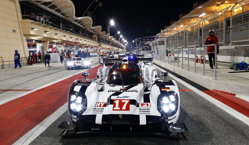 Illustration for article titled No. 17 Porsche 919 Limps Home To World Endurance Championship Title; Fans Can Finally Breathe