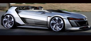 Illustration for article titled VW's Golf GTI Gran Turismo Vision Concept Is A Hot Hatch From 2050