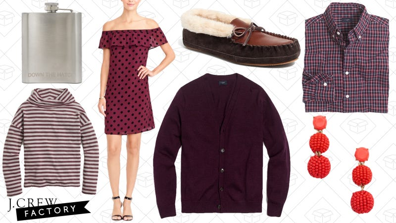 Extra 50% off clearance items | J.Crew Factory | Use code GOTTASHOP