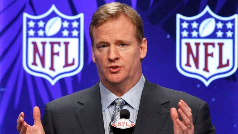 Illustration for article titled Goodell: 'I'd Definitely Let My Son Ruin Football'