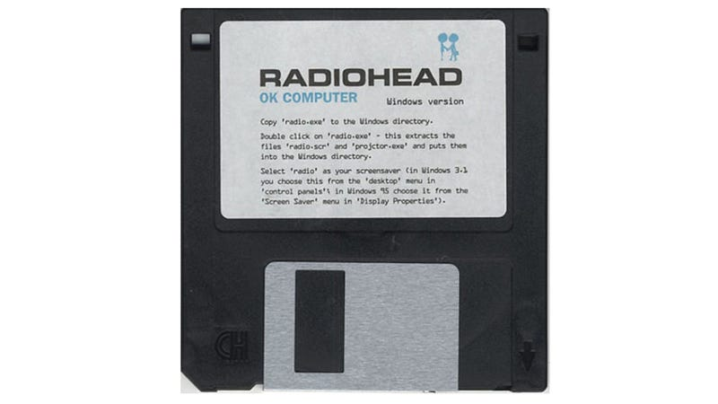 Illustration for article titled Too Bad You Can't Copy Radiohead's Floppy