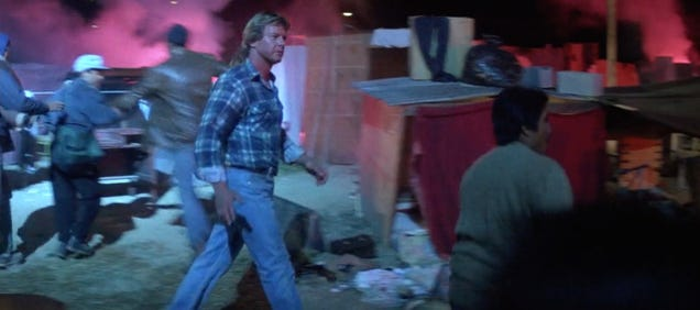 France s Destruction of a Migrant Camp Looks Like a Scene From They Live