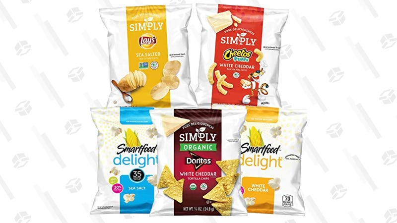 Simply & Smartfood Delights Variety Pack, 36 Count | $11 | Amazon | Clip $3 Coupon at Checkout