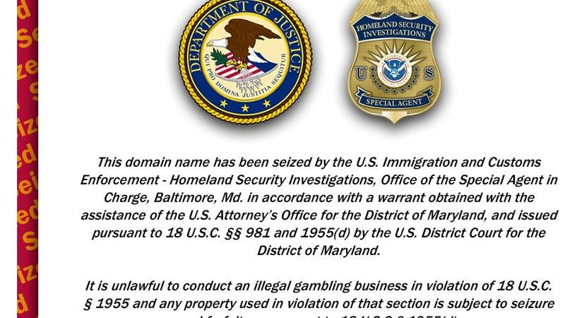 Illustration for article titled After Poker Seizures, Justice Department Comes For Online Sportsbooks