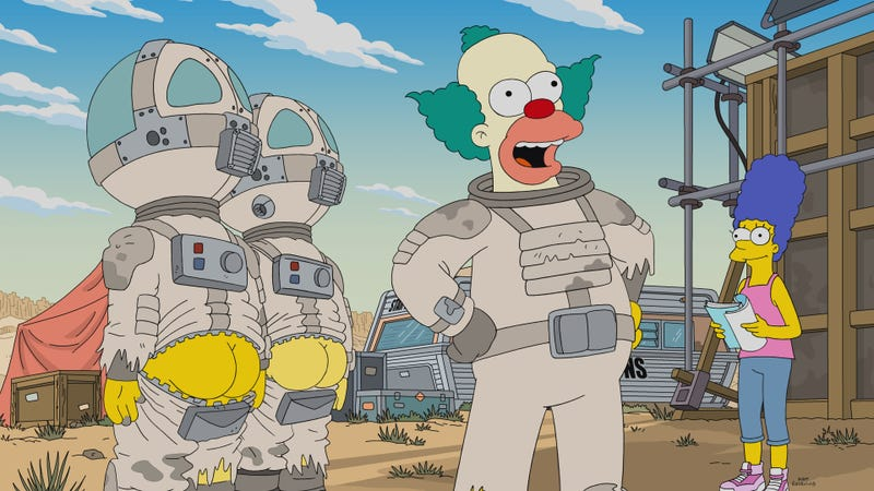 Krusty's long-ago vanity project makes for a surprisingly compelling Simpsons