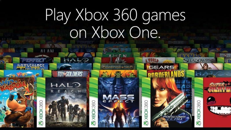 Illustration for article titled Xbox One Backwards Compatibility: The Games Available Right Now UPDATED 2/27