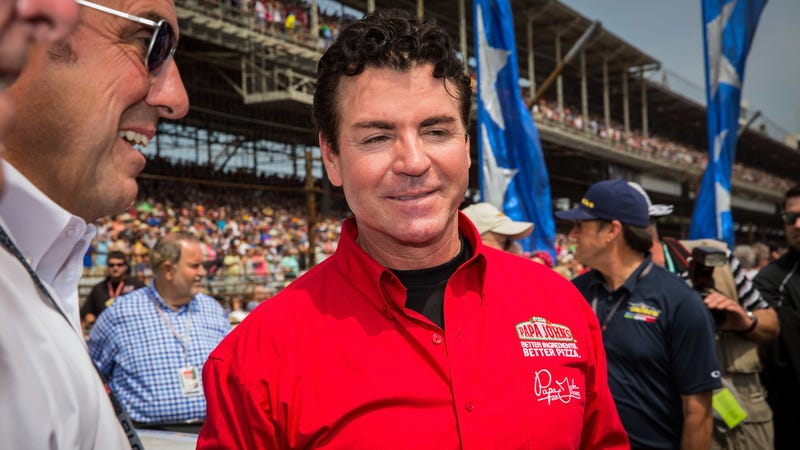Papa John's founder John Schnatter at the Indy 500 in 2015.