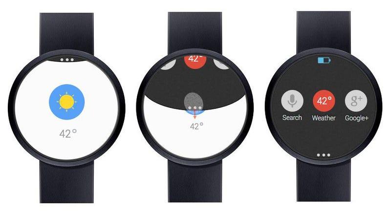 Illustration for article titled Filtradas las especificaciones del smartwatch de Google