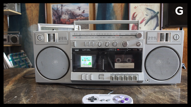The Modder Putting Everything from Alexa to the SNES in Boomboxes