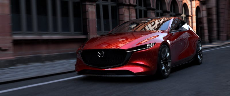 mazda kai concept: if the next mazda 3 looks this good we should