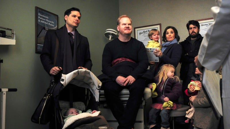Illustration for article titled Jim Gaffigan's full house refreshes the family sitcom