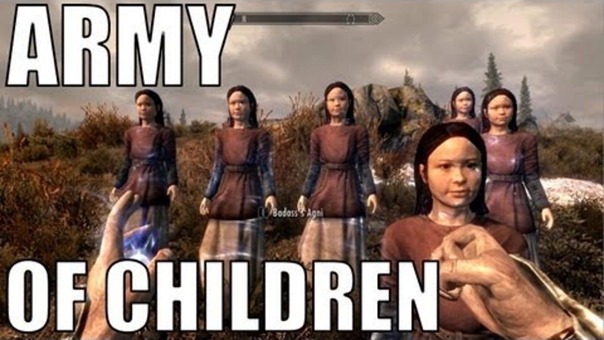 Children skyrim