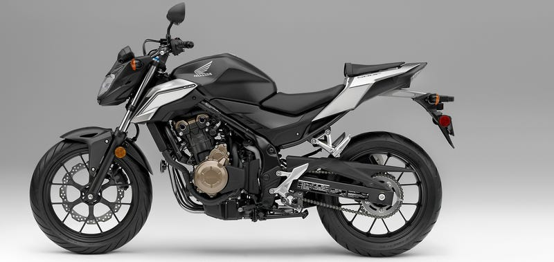 For 2016 Honda Is Adding More Aggressive Styling To Its Wonderful Little Do It All The CB500F Now Gets LEDs Front And Rear Along With A Shorter