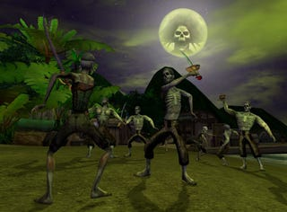 Illustration for article titled PotC Online Celebrates Year One With Zombie Invasion