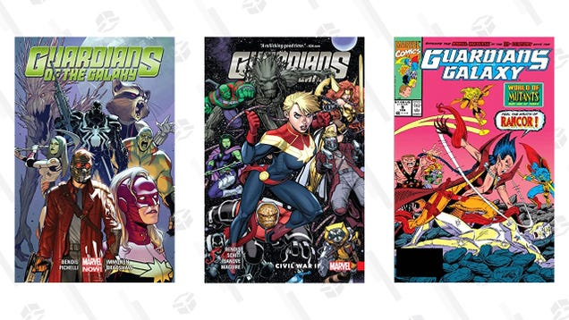 ComiXology s Captain Marvel Sale Lets You Stock Up on Guardians of the Galaxy Comics