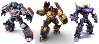Illustration for article titled First Transformers: War For Cybertron DLC Contains All Three Preorder Characters