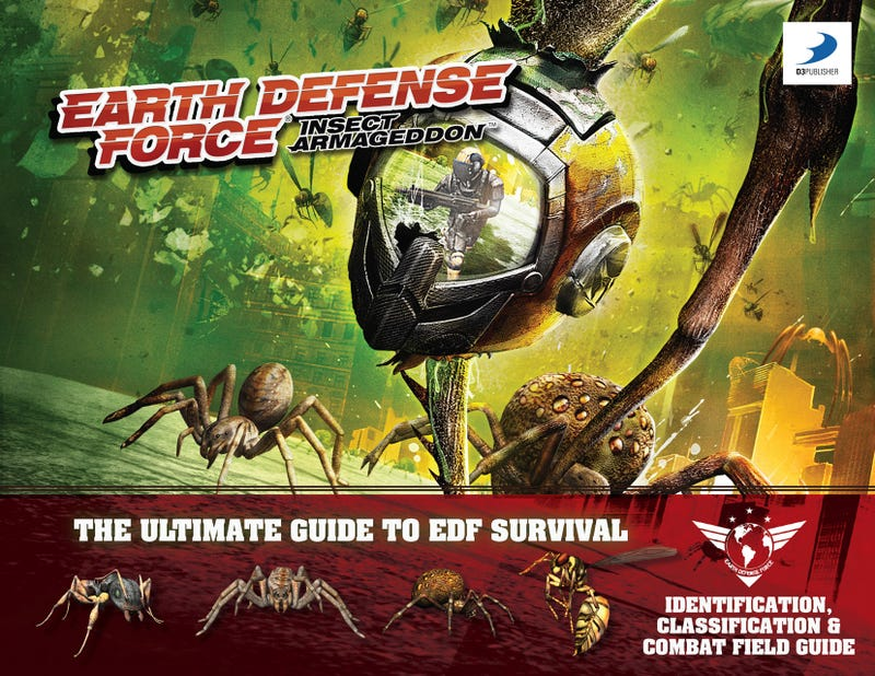 Illustration for article titled A Field Guide To Earth Defense Force: Insect Armageddon's Giant Killer Bugs