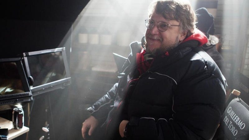 Guillermo del Toro is getting his new project together in impressive fashion.