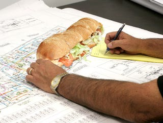 Illustration for article titled Foot-Long Hoagie Used As Ruler