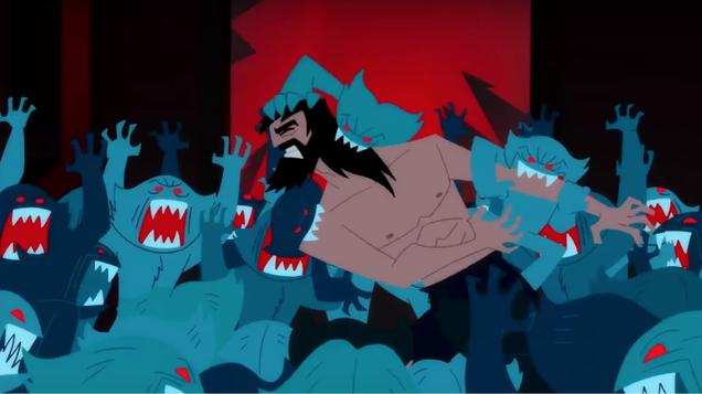 samurai jack wanted to show a dog s butthole but adult swim said nope