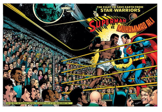 Illustration for article titled The Story Behind That Superman and Muhammad Ali Team Up