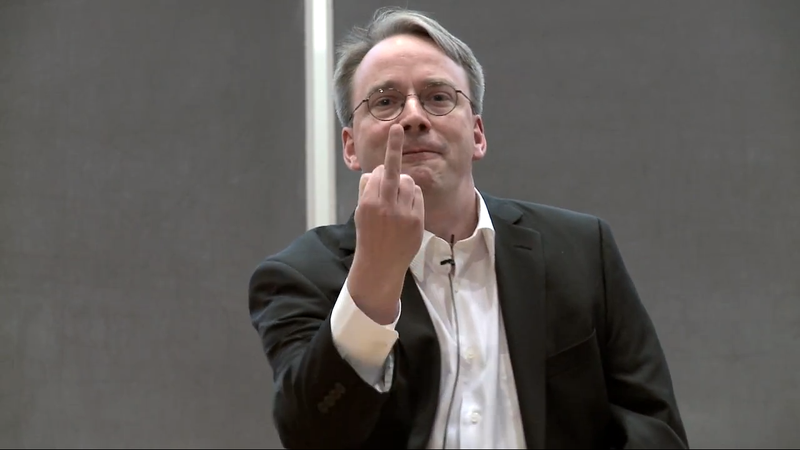 Illustration for article titled Here's What the Creator of Linux Thinks of NVIDIA