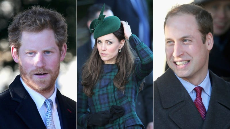 Illustration for article titled Royal Christmas: Harry's Touchable Beard and The Duchess's Rad Plaid