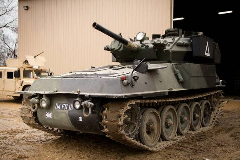 Illustration for article titled How About An Alvis Scorpion Tank For $80,000?