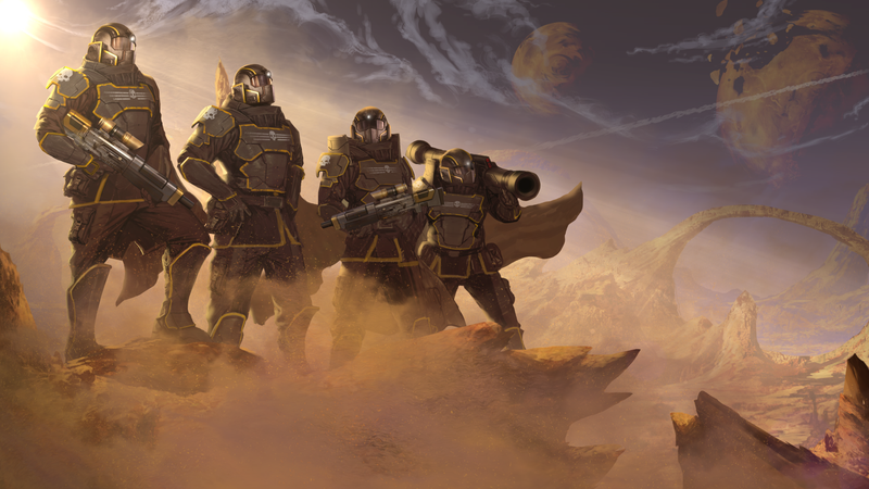 Illustration for article titled Q&A: The People Behind Helldivers Spill Some Secrets