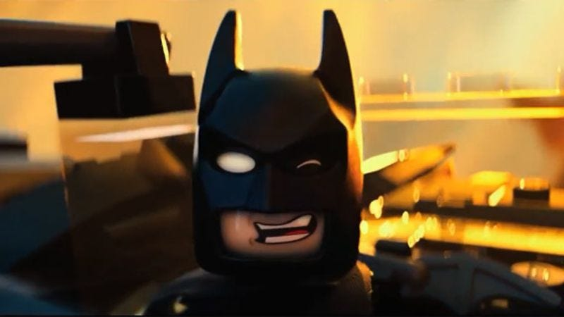 Illustration for article titled Lego Batman to get his own spinoff movie, continued darkness