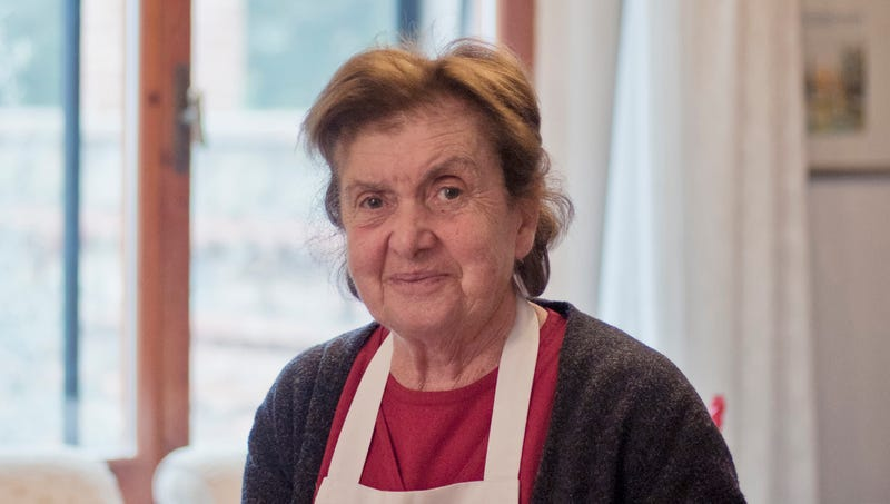 Illustration for article titled Italian Grandmother Doesn't Have Heart To Tell Family Any Dipshit Can Make Lasagna