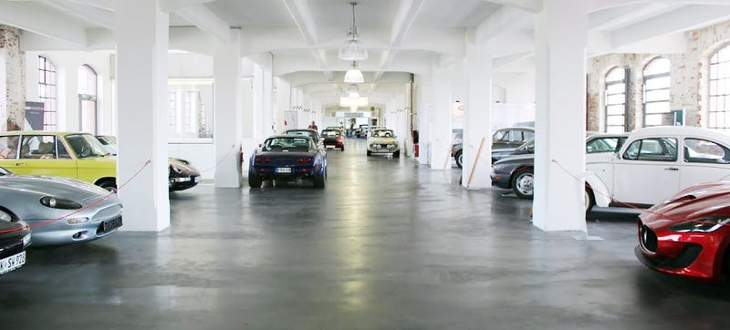 Illustration for article titled This Old Factory In Frankfurt Is Filled With Your Dream Cars