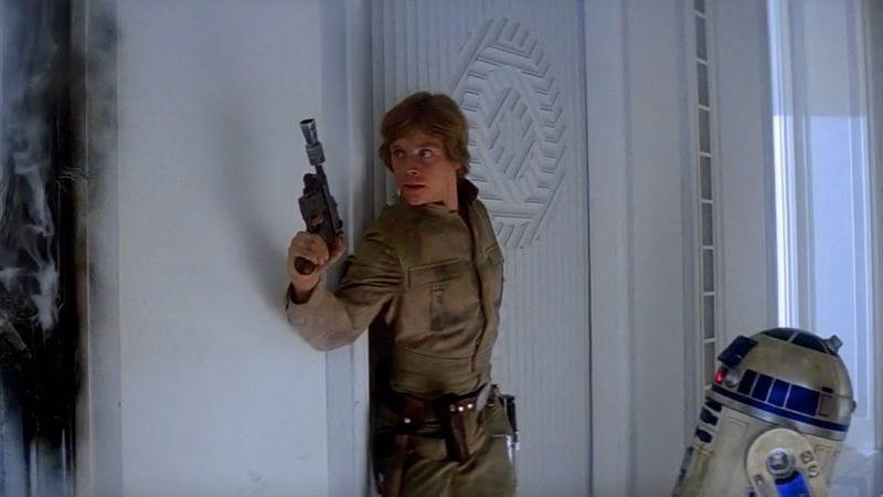Illustration for article titled Luke Skywalker's DL-44 blaster can be yours for a mere $300K