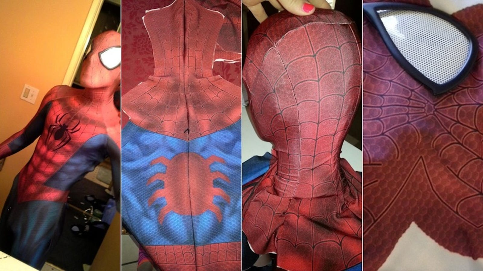 This Guy Built the Most Incredible Spider-Man Suit Ever