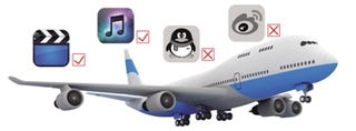 Illustration for article titled My In-Flight WiFi Is Better than Yours!