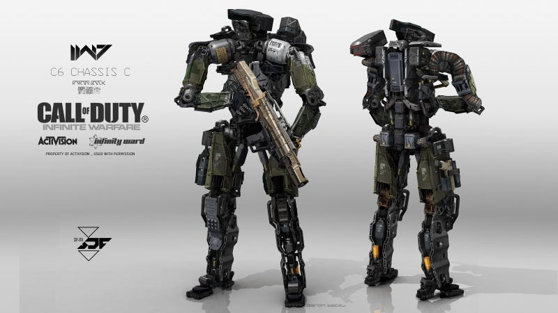 Concept Art Call Of Duty Character