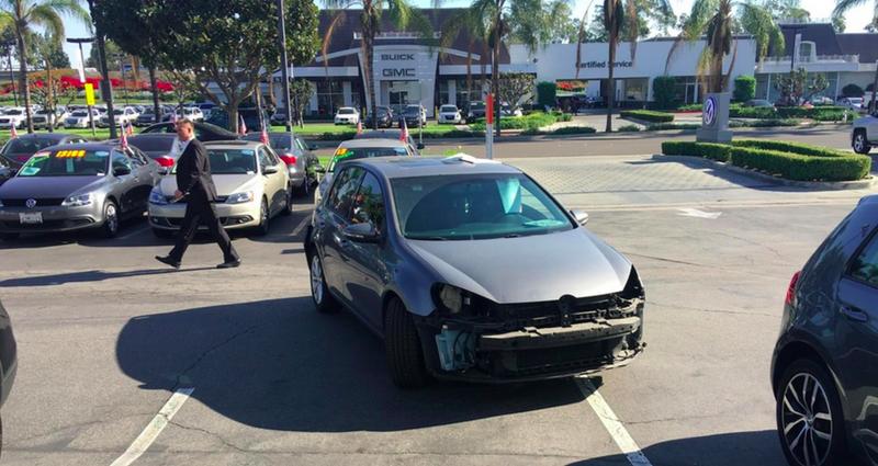 Aprovechan un vacío legal para destrozar los coches afectados por el Dieselgate antes de devolverlos a Volkswagen