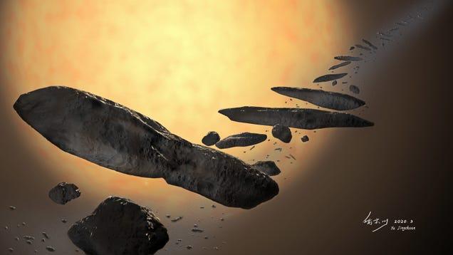 New Theory Explains How Interstellar Object 'Oumuamua Got Its Freaky Shape