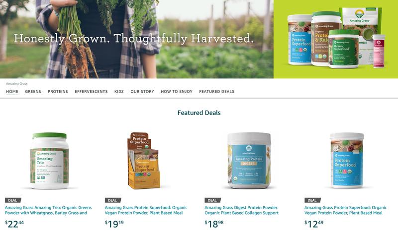 Amazing Grass Supplement Sale | Amazon