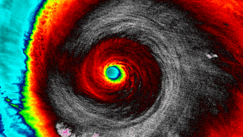 Hurricane Patricia in 2015.