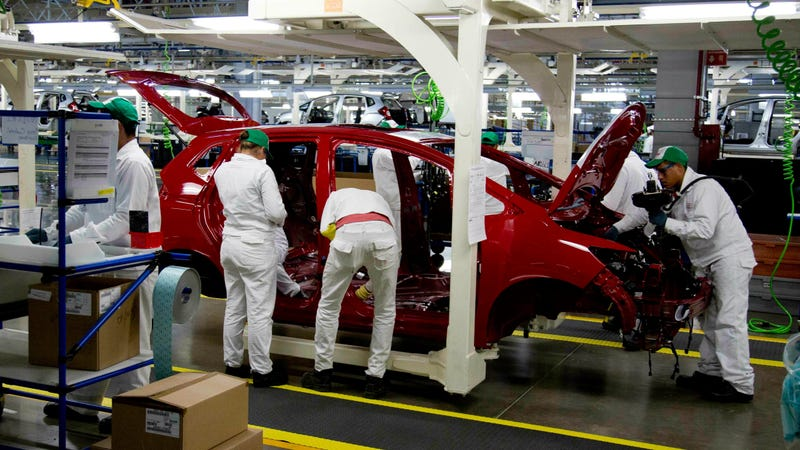Honda's plant in Mexico.