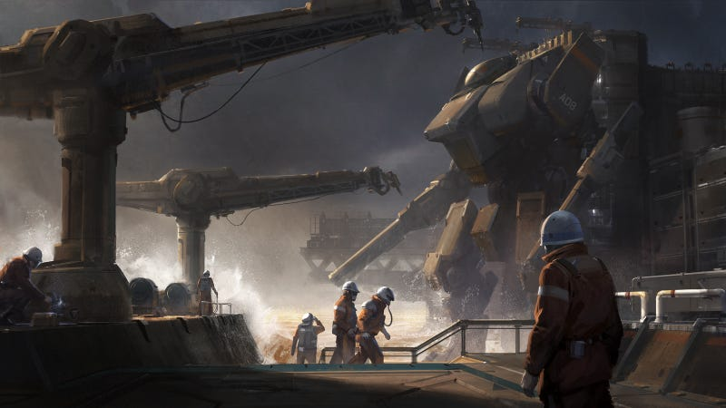 Illustration for article titled Killer Mech Is Cleared For Launch